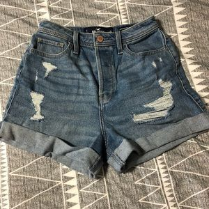 Hollister High Rise Shorts Size 1